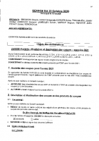CONSEIL DU 23 OCTOBRE 2020